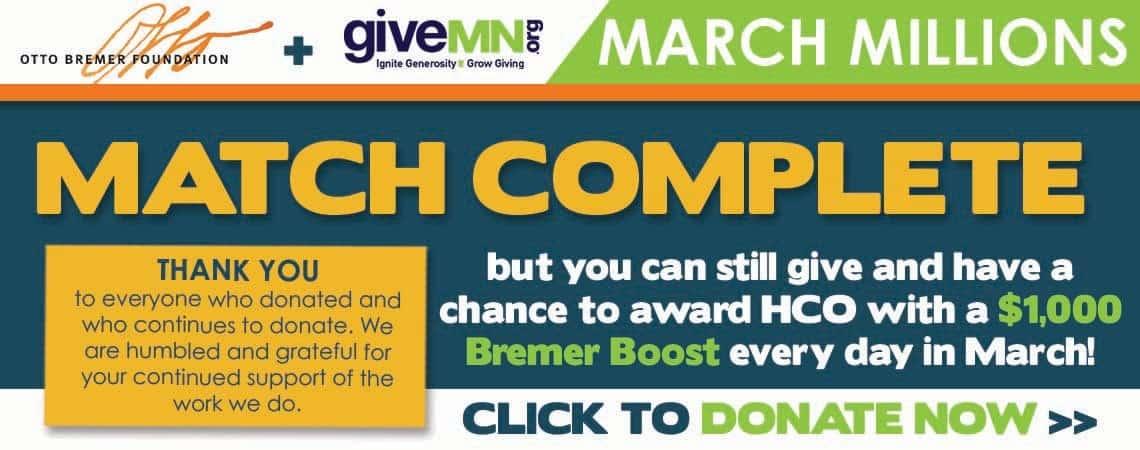 Otto Bremer + GiveMN March Millions Event