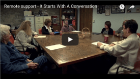 Remote Support – It Starts with a Conversation