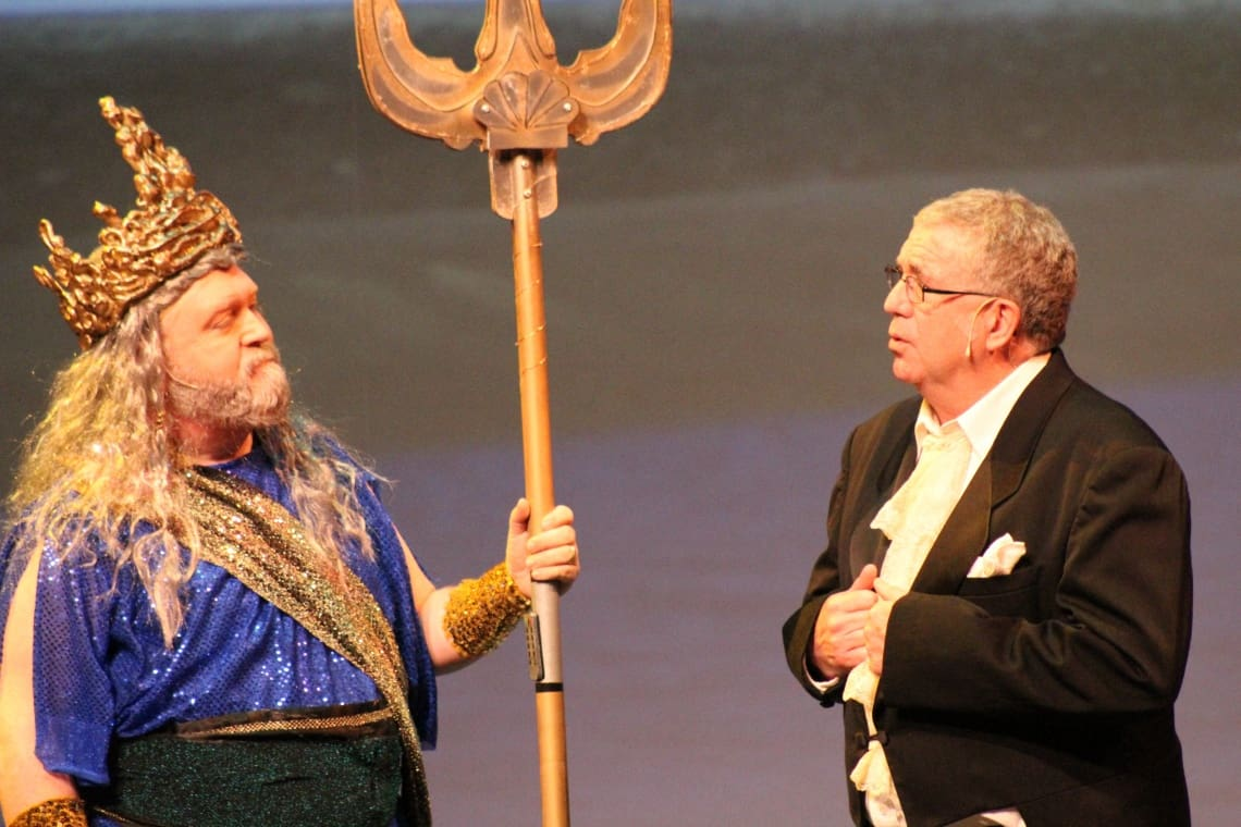 King Triton and Grimsby