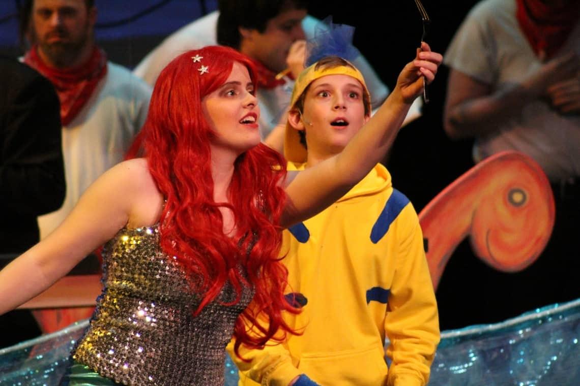 Ariel and Flounder_Dinglehopper