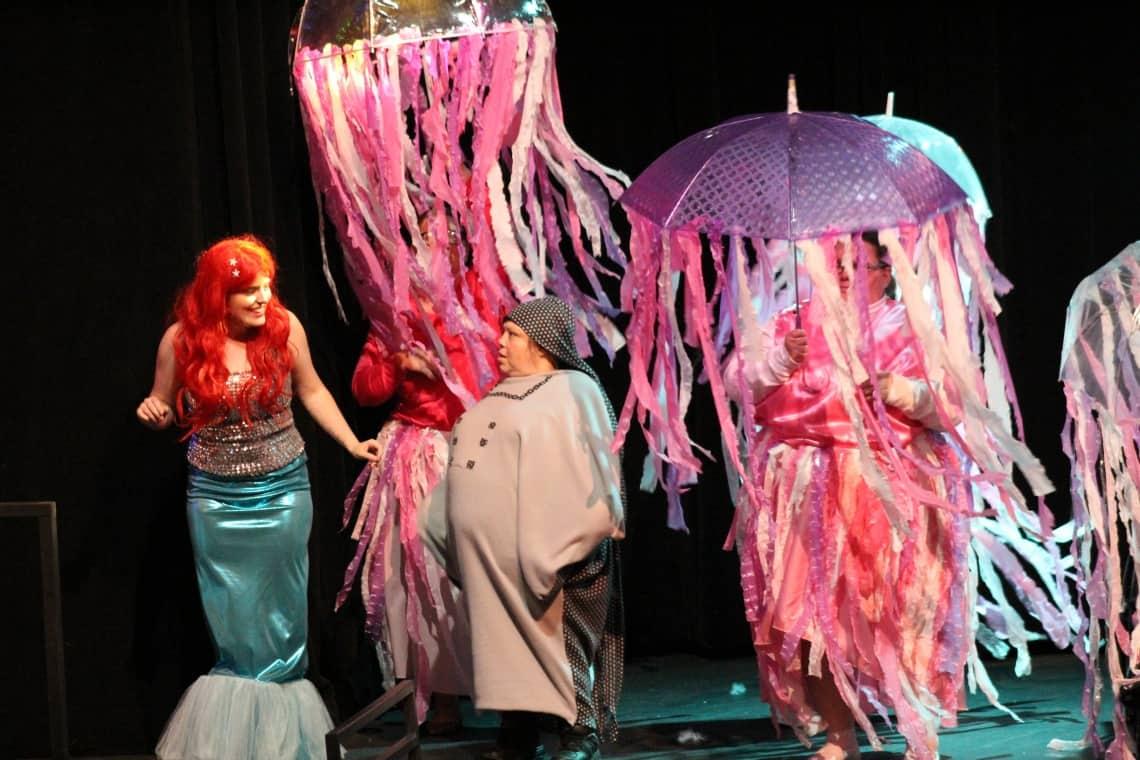 Ariel and Sea Creatures