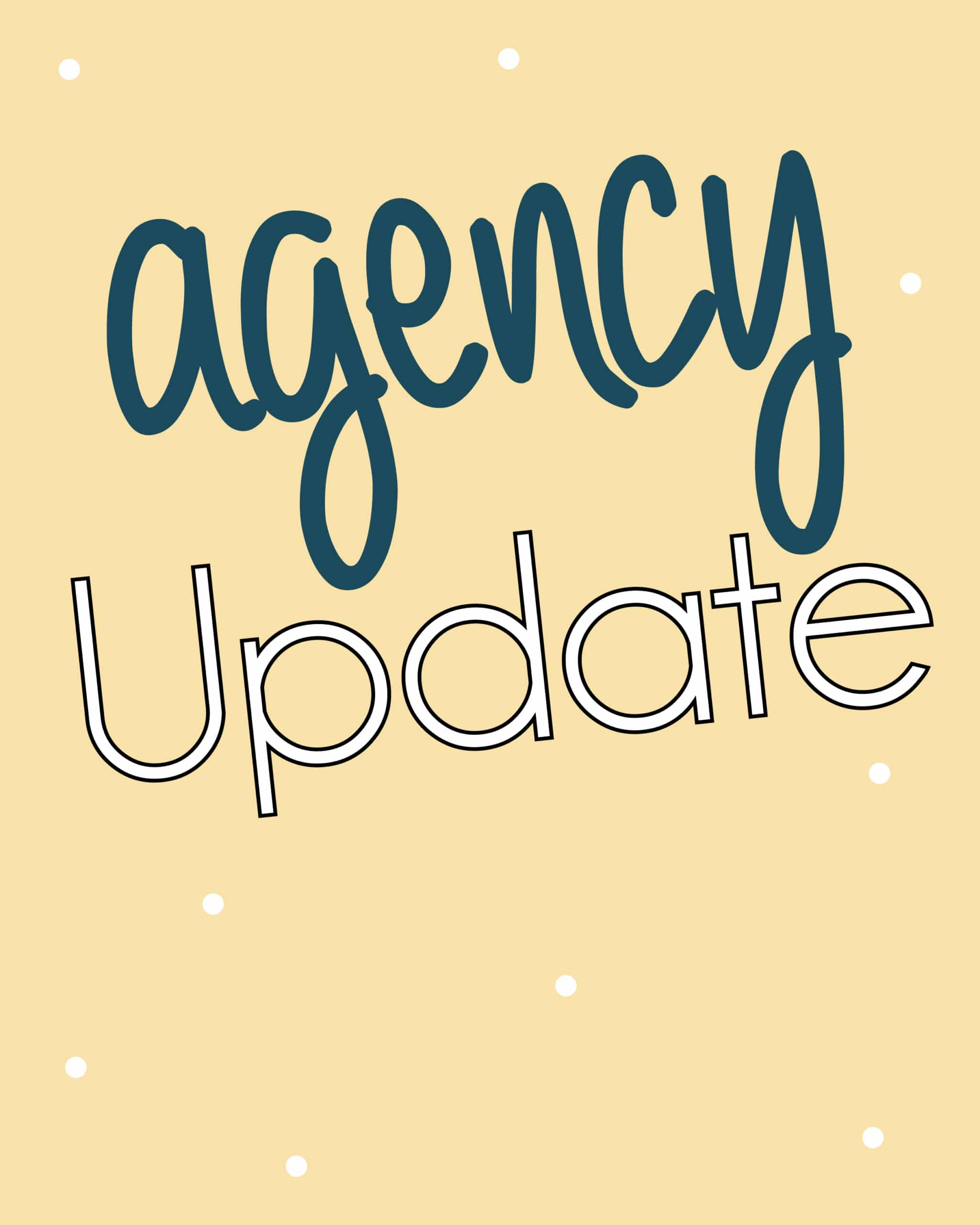 Agency Update – Home & Community Options